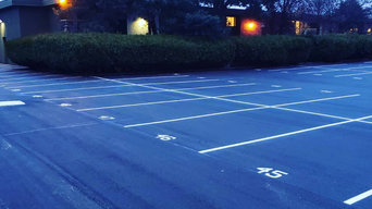 Ladner parking paving and line painting
