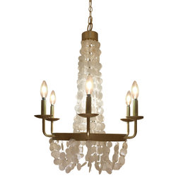 Beach Style Chandeliers by River of Goods