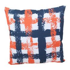 """Plaid Indoor/Outdoor Pillow, 18""""x18"""""""