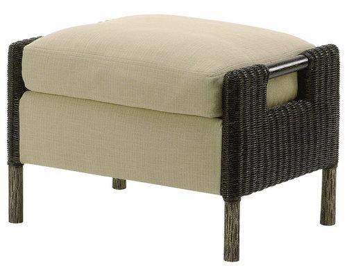 mcguire furniture company laced. McGuire Furniture - Thomas Pheasant Woven Core Ottoman: WS-43 Footstools And Ottomans Mcguire Company Laced B