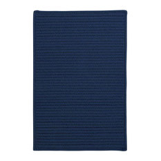 Colonial Mills, Inc - 8' Square (Large 8x8) Rug, Jasmine (Blue) Indoor/Outdoor Carpet - Outdoor Rugs