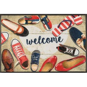 Shoes Welcome Door Mat, 75x50 cm
