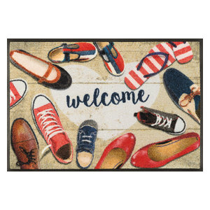Shoes Welcome Door Mat, 75x50 cm