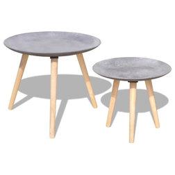 Scandinavian Side Tables & End Tables by vidaXL