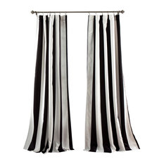 Wilbur Window Curtain Set, Black