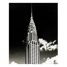 "Portrait of the Chrysler Building, 1930, 24""x30"""
