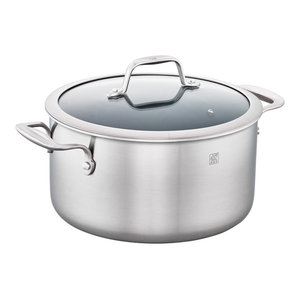 ZWILLING Spirit 3-ply 6-qt Stainless Steel Ceramic Nonstick Dutch Oven