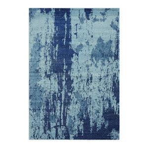 Nova Rectangular Rug, Blue, 120x170 cm
