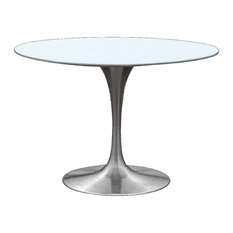 Astonishing De Round Gray Dining Table Impressive 42 Inch