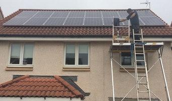 Solar Panels on Scottish Home