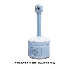 Justrite - Justrite Smokers Cease-Fire Receptacle Forrest Green - Smokers