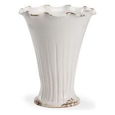 Turin Vase, Glossy White