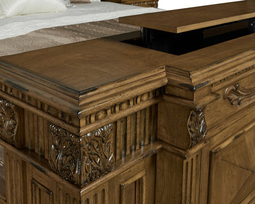 Delightful Belvedere TV Lift Bed Set By Cabinet Tronix   Products