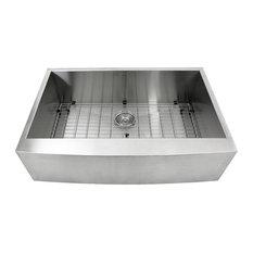 "Nantucket Sinks 33"" Pro Series Farmhouse Stainless Steel Sink"