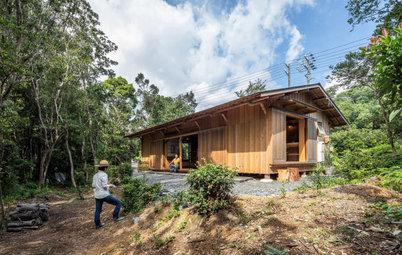 Architecture : Une construction traditionnelle japonaise
