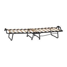 Linon Luxor Folding Bed With Memory Foam Mattress