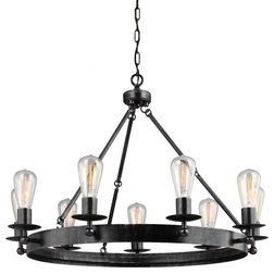 Industrial Chandeliers by Better Living Store
