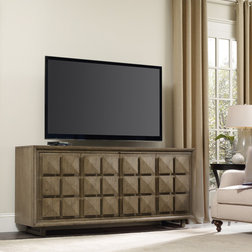 Transitional Entertainment Units by Hooker Furniture