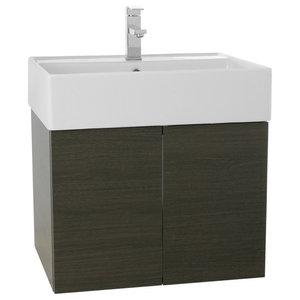 "23"" Bathroom Vanity Set, Gray Oak"