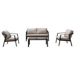 Transitional Outdoor Lounge Sets by Courtyard Casual