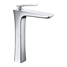 Julia Chrome Bathroom Mixer Tap, High