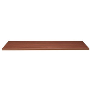 Solid Beech Table Top, 26 mm With Walnut Stain and Varnish, 1200x700 mm