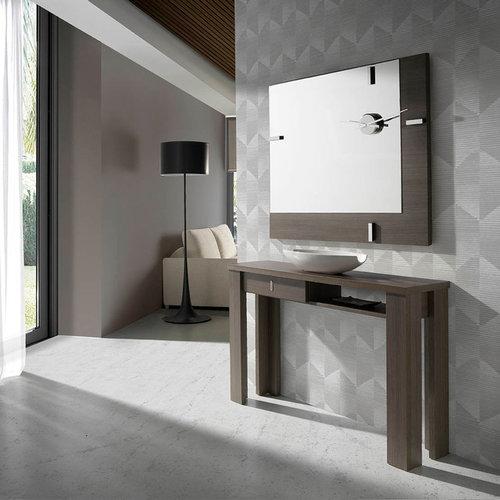 recibidores modernos y de cristal