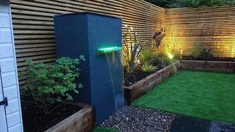 Modern Garden Build, Wokingham