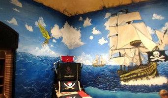 Pirate Ship Mural