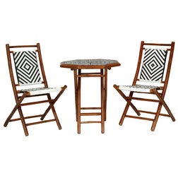 Simple Asian Outdoor Pub And Bistro Sets by Heather Ann Creations