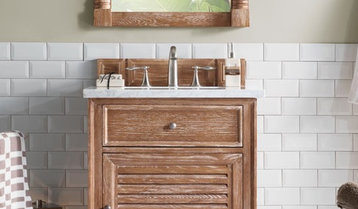 Rustic and Farmhouse Vanities Under $999