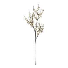 """38"""" Indoor and Outdoor Berry Branch, White"""