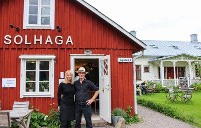 Houzz Tour: Somrigt hem i Halland som andas brödbak och tidigt 1900-tal