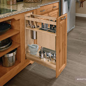 KraftMaid: Kitchen Base Pantry Pull-Out Utensil Storage