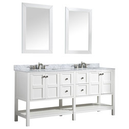 Transitional Bathroom Vanities And Sink Consoles by Bathroom Bazzar