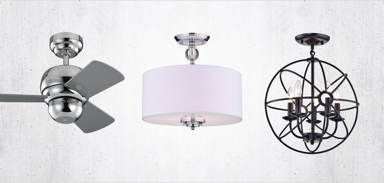 Shop houzz ceiling fans and flush mount lighting under 199