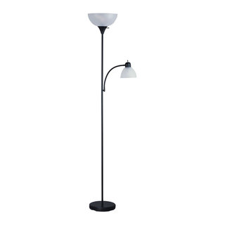 Catalina Kerrington 71 Quot Oil Rubbed Bronze Mother Daughter Torchiere Floor Lamp Transitional