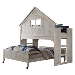 Deer Blind Kid S Bunk Bed Green Camo Farmhouse Bunk
