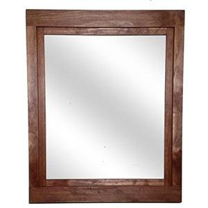 "English Chestnut Farmhouse Style Vanity Mirror 24""w x 30""h ..."