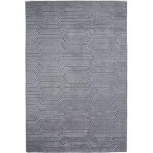 Circuit CIR02 Rug, Grey, 150x240 cm