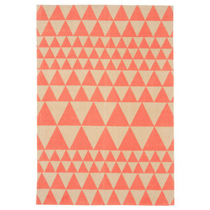 Onix Triangles Flame Rectangular Rug, 160x230 cm