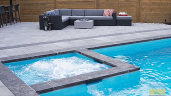 Elegant Landscaping Project In Toronto With Pool Construction & Outdoor Kitchen