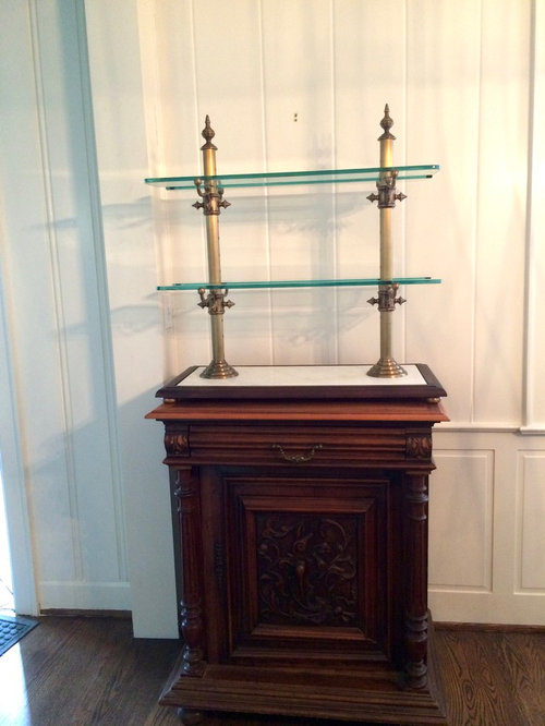 patisserie serving stand - set up as bar or store it?