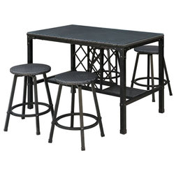 Industrial Outdoor Bar Stools And Counter Stools By RedChairFurniture