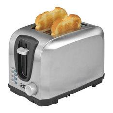 Kalorik Home Decor Kitchen 2 Slice Stainless Steel Toaster