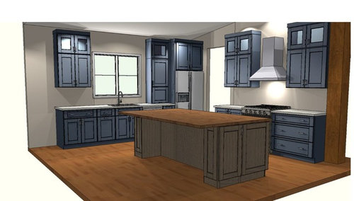 Show Me Your Real Life Two Tone Kitchen Ideas Please