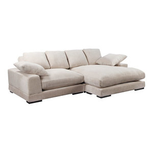 Plunge Sectional Transitional Sectional Sofas By Old