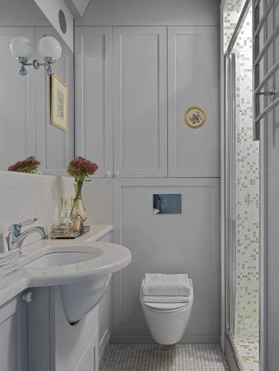 Классический Ванная комната by Artists Collaboration