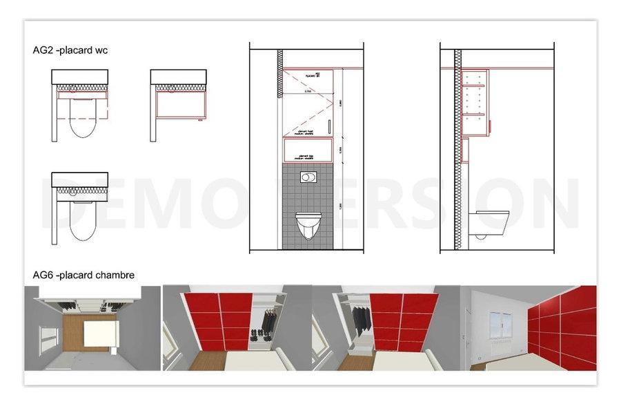 étude pour un appartement à Paris 75010