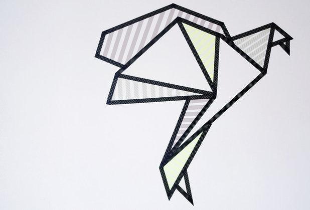 diy r alisez votre propre d coration murale en masking tape. Black Bedroom Furniture Sets. Home Design Ideas
